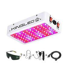King Plus 600W LED Grow Light Full Spectrum for Indoor Plants Veg and Flower(...