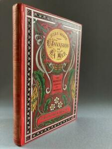Jules Verne, L'Invasion de la Mer, nice binding, circa 1920
