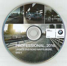 Original BMW 1/3/5/6/X5/X7 Professional Navigation Sat Nav Disc DVD Carte 2016