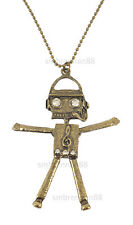 Dance Music Disco Robot Necklace
