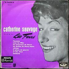 CATHERINE SAUVAGE LEO FERRE VOL. 2  25CM PHILIPS 76.024 1ère Pochette L'HOMME
