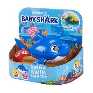 Zuru Robo Alive Junior Pinkfong Baby Shark-Water Activated Sing & Swim Bath Toy
