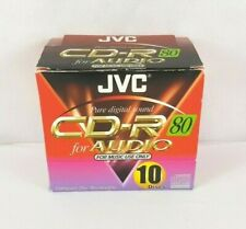 JVC Music CD-R 80 for AUDIO Box of 10 *SEALED*