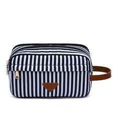 Unisex Travel Toiletry Organizer Bag Shaving Dopp Kit Makeup Cosmetic Bags