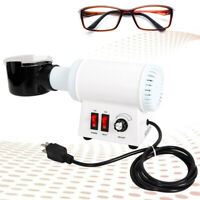 110V Optical Eyeglass Lens Frame Heater Warmer Hot Air Temperature Adjustable US