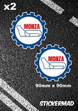 MONZA Circuit Stickers F1 McLAREN Honda SENNA PROST  MOTO GP Italian Grand Prix