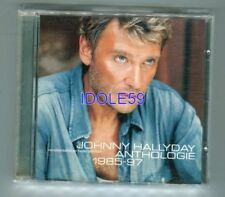 CD de musique album Johnny Hallyday