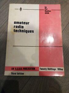 Amateur Radio Techniques Pat Hawker G3VA Third Edition 1970