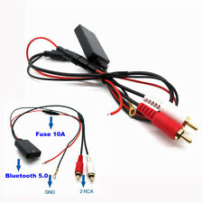 Bluetooth AUX Receiver Module 2 RCA Cable Adapter 10M Range for Car Audio/Stereo