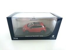 Peugeot 208 Mi-Vie 5p 2015- 1/43 NOREV VOITURE DIECAST DEALER PACK MODEL 472816