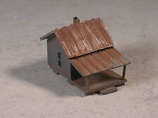 Z Scale Fishing Camp Cabins weathered, Type #3