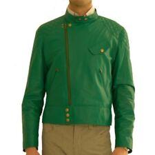 Paul Smith chaqueta piel, chaqueta de cuero T. M