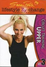 SUSAN POWTER CIRCUIT TRAINING UPPER LIFESTYLE DVD NEW EXERCISE WORKOUT
