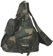 Messenger Sling Body Bag Backpack Camo Green Camoflauge School Day  Shoulder