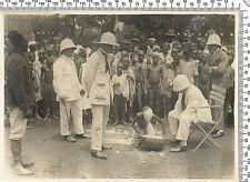 Photo coloniale Françaises. Somalie. (Peut être punition) Vers 1920