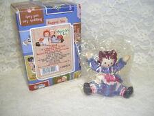 Raggedy Ann With Heart Gift Figurine Enesco Nib