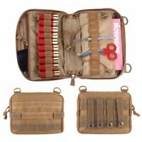 Outdoor Tactical Magazine Organizer EDC Utility Medic Phone Pouch Molle Bags Bag
