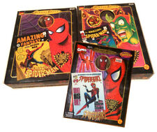 Spider-Man, Green Goblin & Spider-Girl Famous Covers Figures