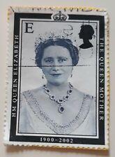 The Queen Mother Queen Elizabeth Post Stamp 1900-2002. Royal Family UK