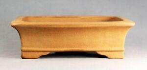 Tokoname Rect. Bonsai Pot by Izumiya #23T18Y : 161*120*H50mm