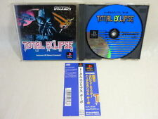 PS1 TOTAL ECLIPSE TURBO with SPINE CARD * Playstation PS JAPAN Game Import p1