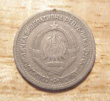 YUGOSLAVIA JUGOSLAVIA 1 DINAR Coin 1965