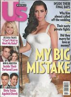 Kim Kardashian Us Weekly Magazine Robert Pattinson Jessica Simpson Fashion 2011