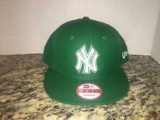 New Era NY New York Yankee's Kelly Green St. Patrick's Snapback Hat Cap