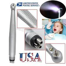 USA Dental Self-suffcient LED Handpiece Standard Push Button 3W High Speed 4Hole