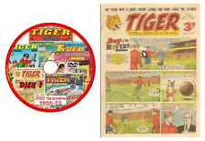 Tiger Comics 202 issues 1955-1975 on DVD Disk 1 (offers available - see listing)