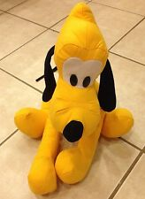"Vintage~16""~PLUTO~Disneyland Walt Disney World~Plush Soft Stuffed Dog Animal"