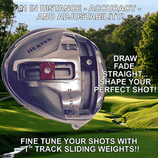 B1 DRAW/FADE/NEUTRAL TAYLOR FIT MADE ADJUSTABLE PGA DISTANCE LONG CUSTOM DRIVER