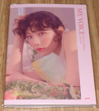 TAEYEON SNSD MY VOICE DELUXE EDIT SMTOWN COEX Artium SUM GOODS POSTCARD BOOK NEW