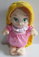 "Disney Babies Princess - Disney Parks - 12"" Tangled Rapunzel Soft Toy Plush Doll"