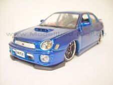Maisto 2002 Subaru Impreza WRX blau 1:24