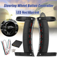 LED Universal Wireless Car Steering Wheel Button Remote Control Stereo DVD GPS