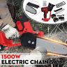 288V 1500W Akku Kettensäge Elektro Motorsäge Einhandsäge Baumsäge + 1/2 Batterie