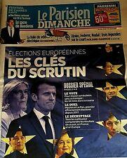 LE PARISIEN*26/05/19*NEUF**SPÉCIAL ELECTIONS EUROPÉENNES**FOLIE VÉLO ELECTRIQUE