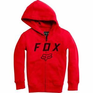 Fox Kinder Legacy Moth Zip Fleece Kapuzenjacke Größe S (122)