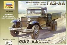 Zvezda 1/35 GAZ-AA 2ND GUERRE MONDIALE Armée Soviétique Camion # 3602