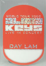 Alicia Keys 2002 Tour Laminated Backstage Pass