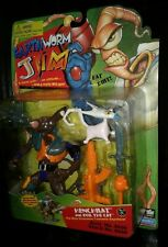 Henchrat with Evil The Cat 1994 Earthworm Jim Action Figure New Unopened