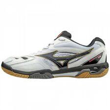 Mizuno Badminton Shoes Wave Fang Pro 71Ga1700 White x Black x Gold