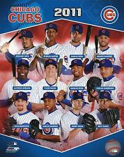 2011 Chicago Cubs Licensed 8 x 10 Team Composite