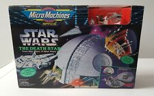 1994 Micro Machines Star Wars The Death Star playset - Sealed New In Box Galoob