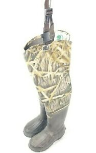Hodgman Youth Waders Hip Waders Youth Sz 11 Hip Camo Thinsulate Insulated Boots