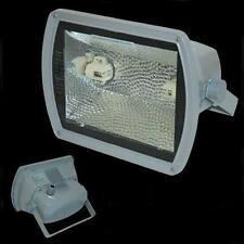 Flutlichtstrahler P150 silber HQI HIT 150W Fluter Außenstrahler