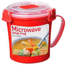 Sistema a Microonde Plastica Tazza Da Zuppa 656ml rendere veloce Zuppa stufati e bevande calde Cup