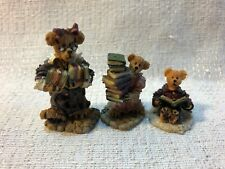 Boyds Bearly Built Villages Public Libeary Ms Griz Bailey Accessories 19506-1