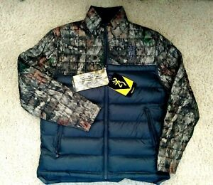 NWT ~ Browning Full Zip A-Tacs Camo Jacket ~ NEW Men's $199 Sizes M and 2XL